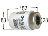 FILTER PALIVA BF7674-D,WK8102, RE509031